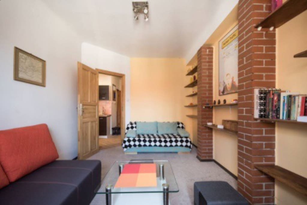 Living Room / Additional Sleeping Area