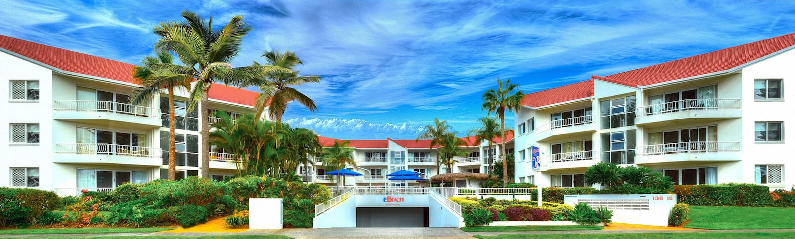 Ocean Front Holiday Apartment for Rent