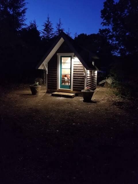Sandy Pond Farm tiny house, private & remote