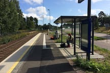 Ближайшая к дому железнодорожная станция Kyminlinna