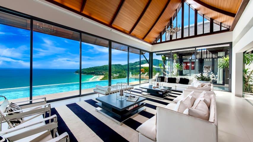 Villa Paradiso - Naithon Beach & Sunset View