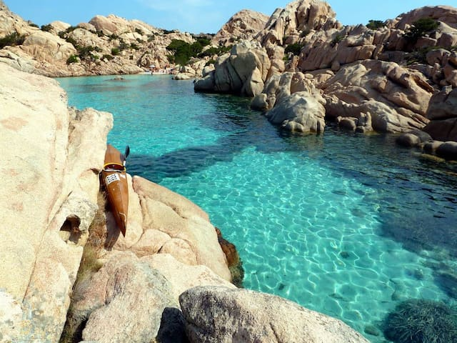 Holiday home 2-3 people w. seaview - La Maddalena