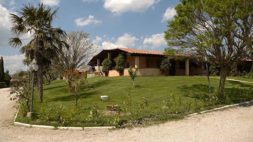 villa con giardino Pescia Romana - Pescia Romana