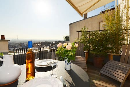AMAZING TERRACE WITH EIFFEL TOWER VIEW