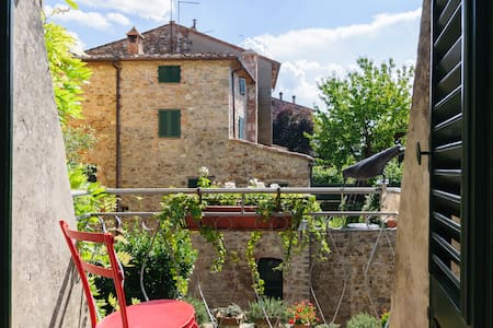 Tuscany, Casa Pei - Olivo room - Lucignano - Bed & Breakfast