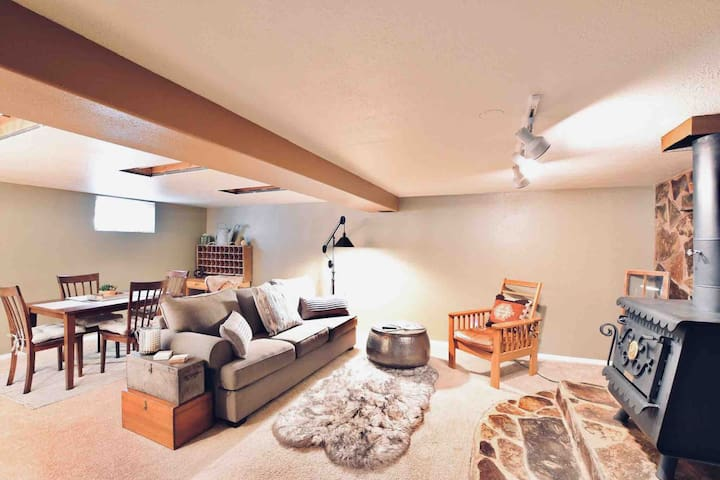 Cozy basement apartment in the ♥️ of Columbia Falls