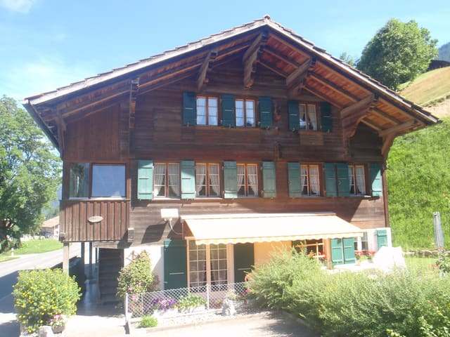 Holiday apartment in Simmentaler Chalet - Lenk im Simmental - Apartemen