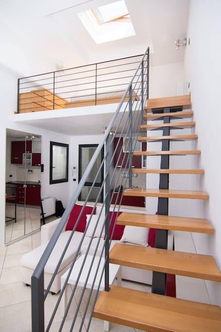 nice sized upstairs