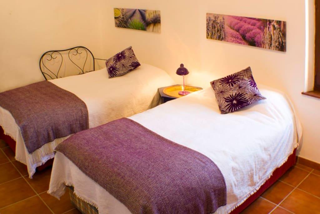 Bedroom 2, St Chinian Suite.