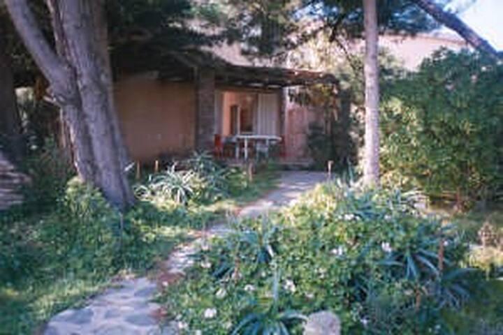 Villa con giardino Stintino