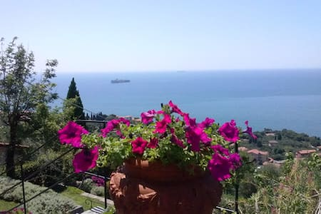 Capo d'Acqua-room in Villa, seaview - เลริชิ - วิลล่า