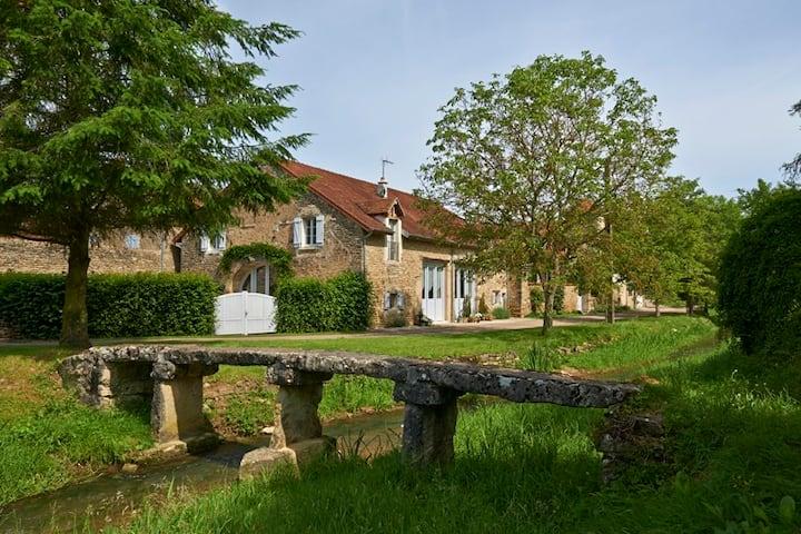 La Ferme de la Lochere, Burgundy, France