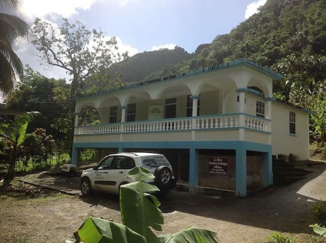 The Jungle Room in Soufriere - Soufriere - บ้าน