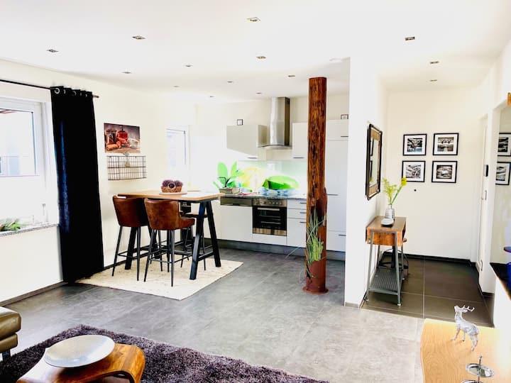 Moderne, elegante Wohnung mit Innenstadtnähe
