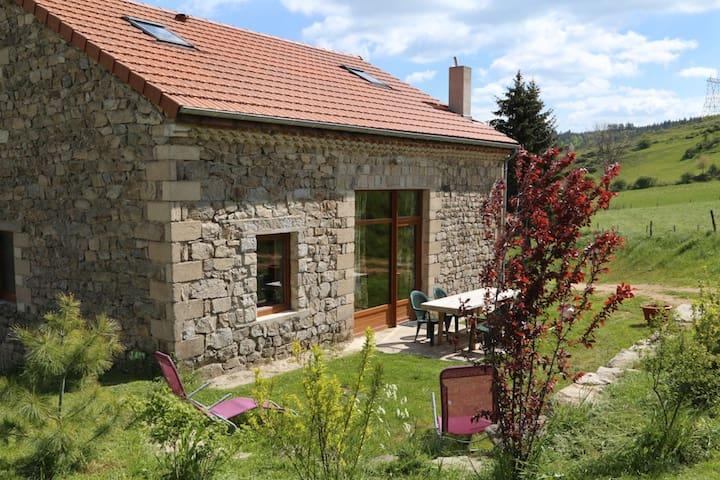 Gite en pleine nature,piscine hors sol jacuzzi - Saint-Christophe-d'Allier - Ev