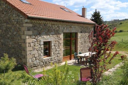 Gite en pleine nature,piscine hors sol jacuzzi - Saint-Christophe-d'Allier - Hus