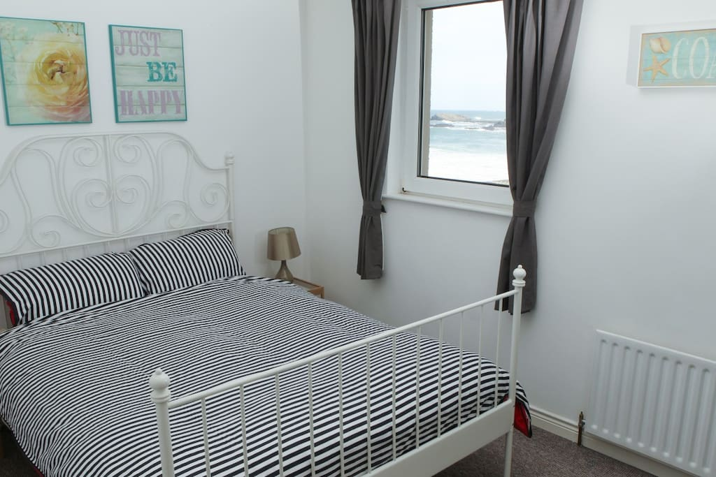 Sea views from the main bedroom