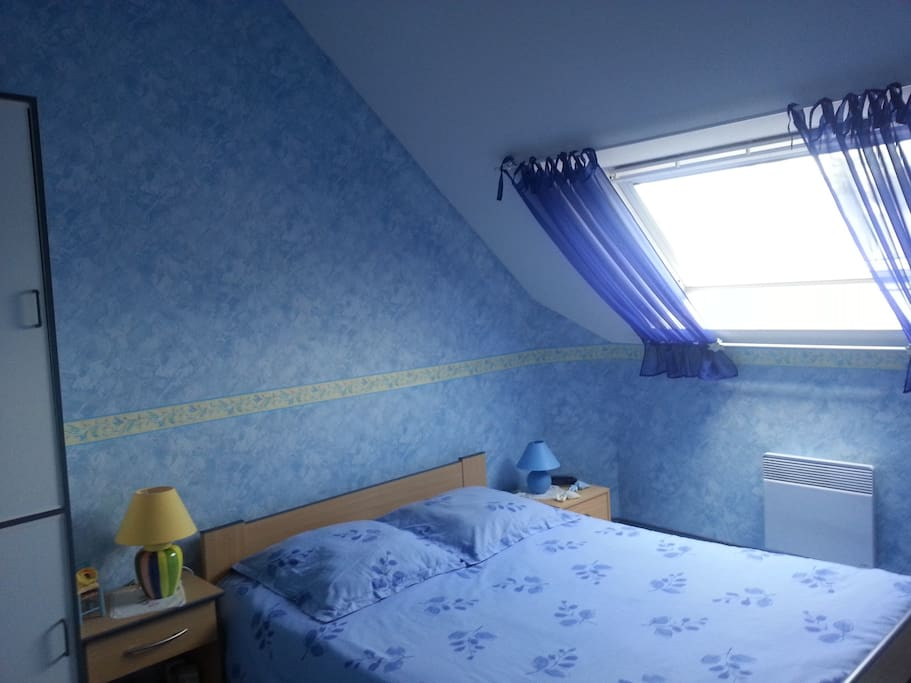 Chambre lit double de 140