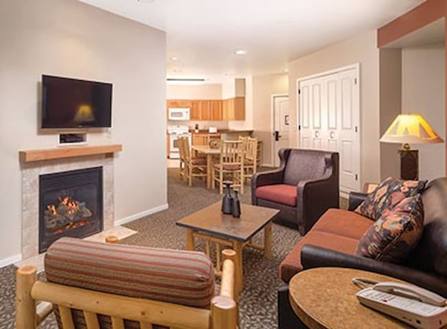 Luxury 1 Bedroom Condo Close to Yellowstone (#1.1) - West Yellowstone - Timeshare