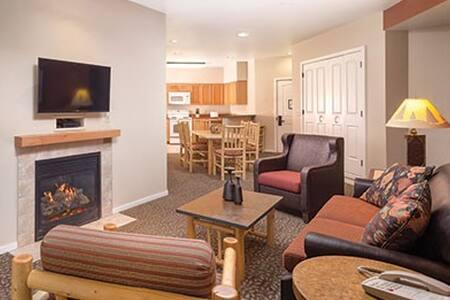 Luxury 1 Bedroom Condo Close to Yellowstone (#1.1) - West Yellowstone - Teilzeitwohnung