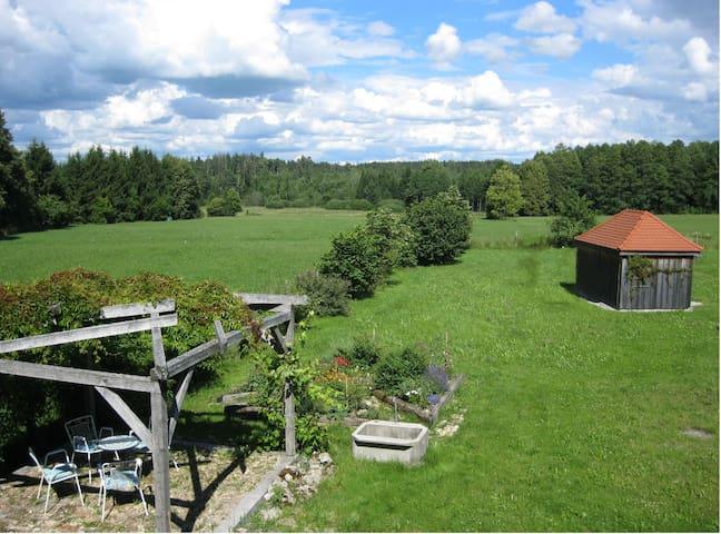 Helles Landhaus auf Waldlichtung - Dießen am Ammersee - Casa