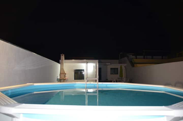 Casa con 2 stanze a Viana do Castelo, con splendida vista sulle montagne, piscina privata, giardino attrezzato - 500 m dalla spiaggia