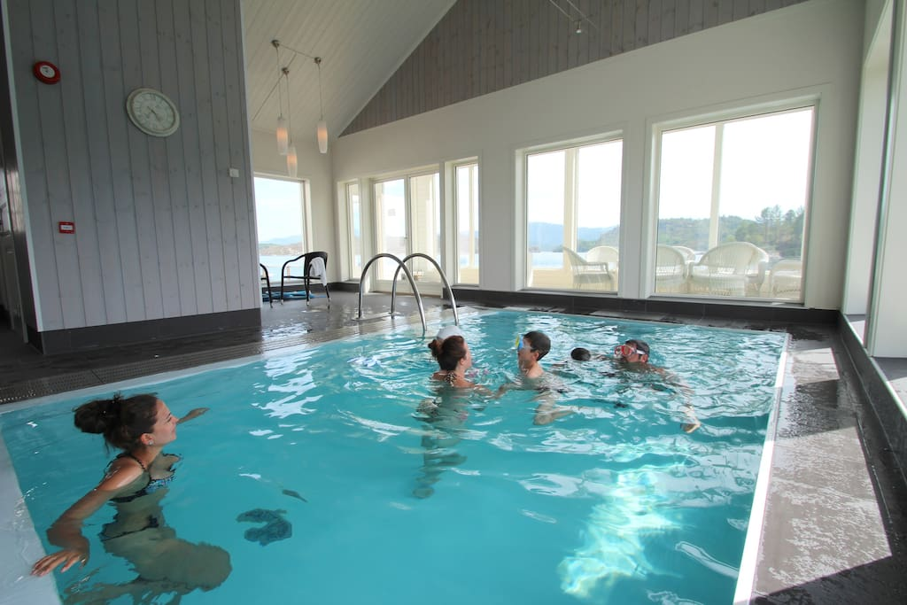 We offer a heated swimming pool for our guests.