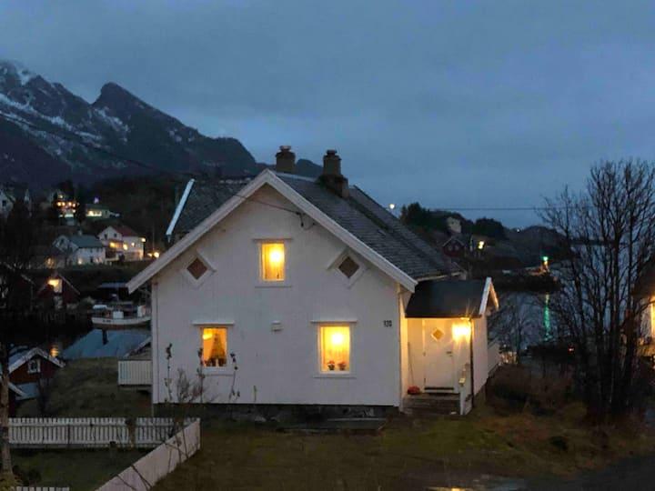 Korsla i Lofoten