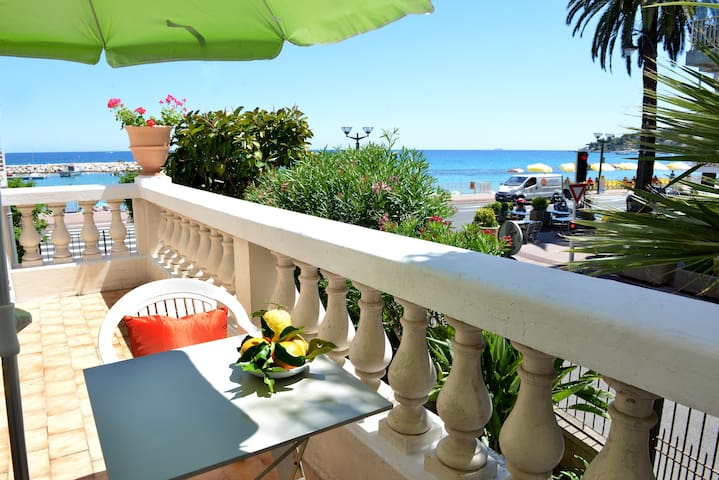 Charming appartment with sea view - Roquebrune Cap Martin - Leilighet