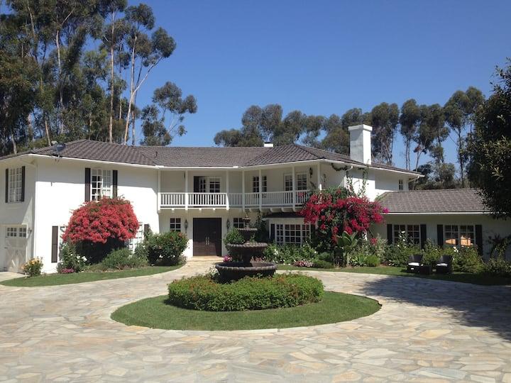Exclusive Mansion by Del Mar Races