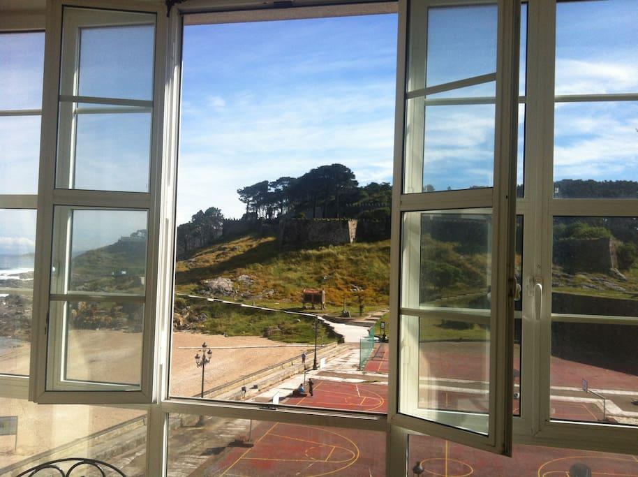 Vistas desde la terraza