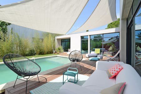 FAMILY FRIENDLY CONTEMPORARY HOUSE - Villevieille