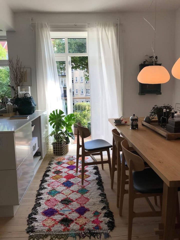Homely apartment in Øgaderne
