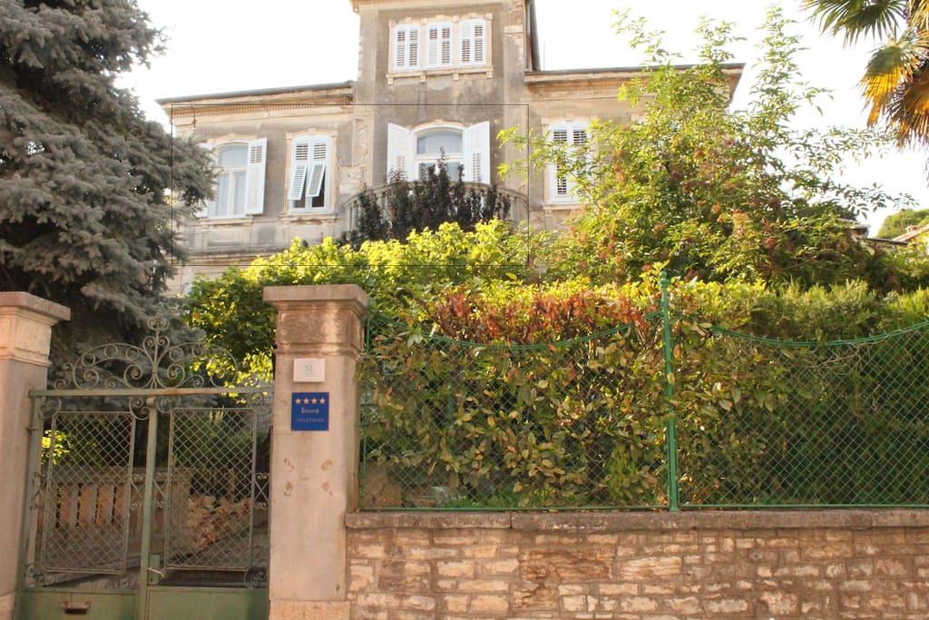 Vila front view