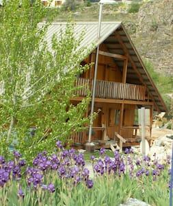 petit nid de 40 m2 dans chalet bois - Les Vigneaux - Appartement