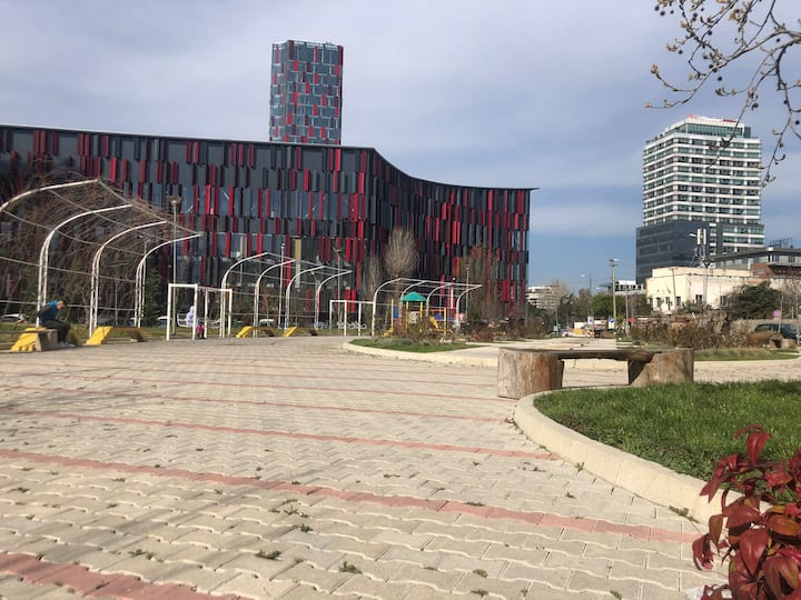 The place to be: Next to Air Albania stadium