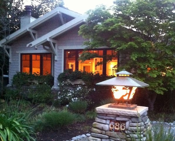 Craftsman Bungalow in Silicon Valley - Redwood City - Hus