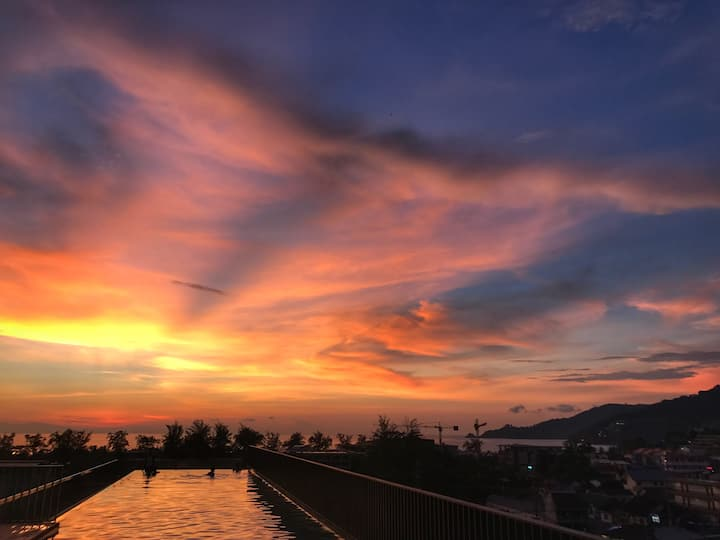 Luxury 2 bedroom condo with 2 pools in Patong