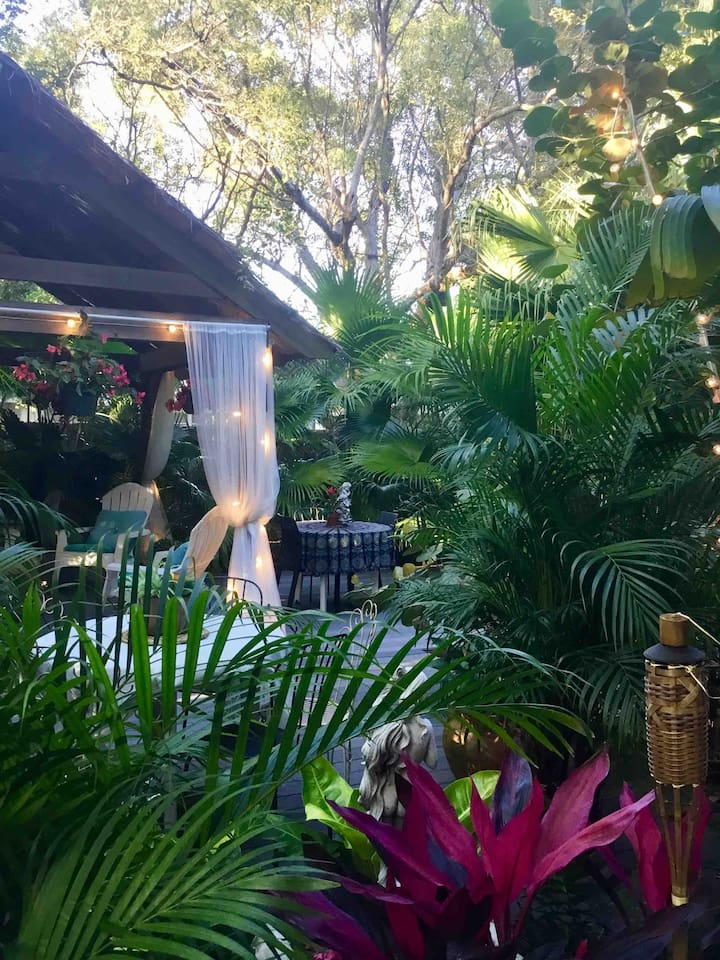 Day View of Your private garden lounge