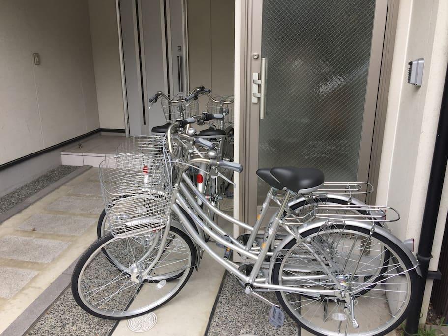 Free Four Bikes