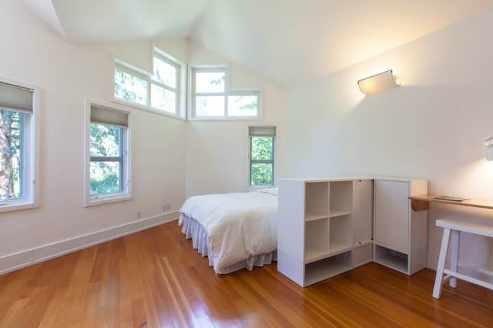 Lofty and lightfilled studio apartment