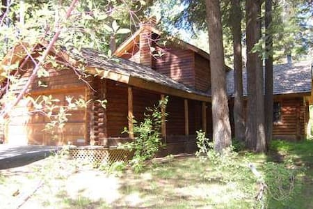 Tahoe Pines Log Cabin with hot tub - Tahoe Pines - Hytte