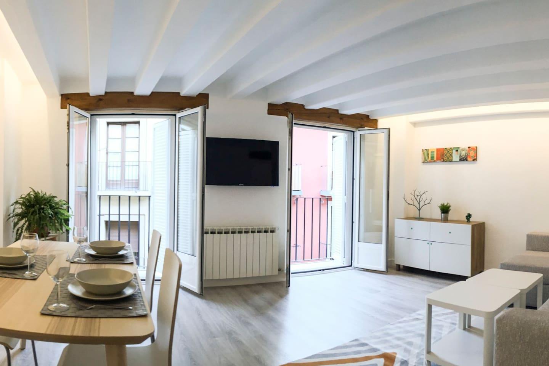 Panorámica del salón - comedor