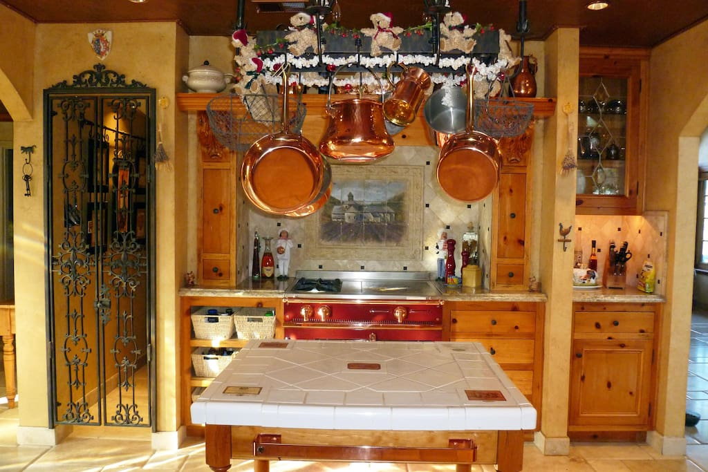 County French Kitchen