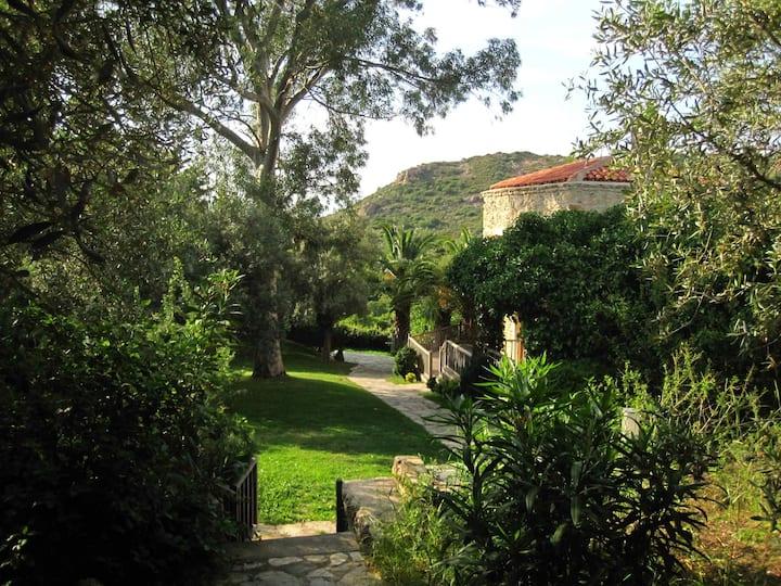 Secret Garden Stone House
