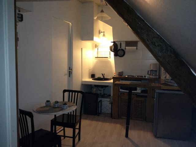 Charming studio in the heart of Paris...