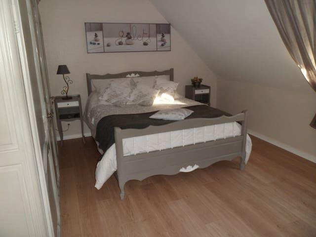 1 chambre à louer chez l'habitant  - Trévières - Haus