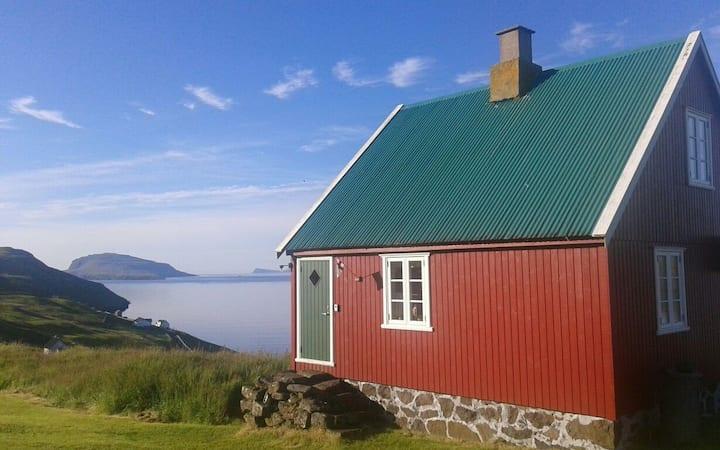 Fantastisk udsigt fra hyggeligt hus!