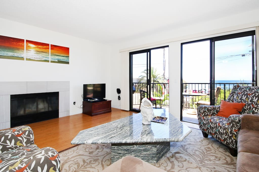 Enjoy your living room with a beautiful view