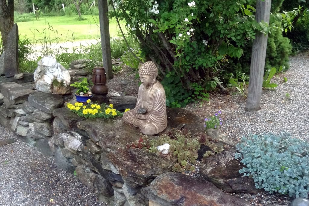 Buddhist contemplation & rock garden . . . Newfane, VT
